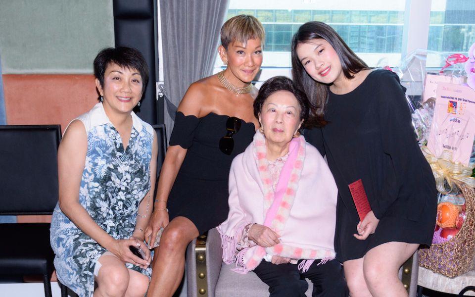 Irene Lee, Marie-Christine Lee-Louey, Christina Lee and Alexandra Louey
