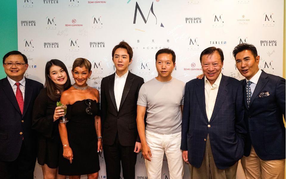 Kennedy Wong, Alexandra Louey, Marie-Christine Lee-Louey, Yundi Li, Benjamin Lee, Walter Kwok and William Louey