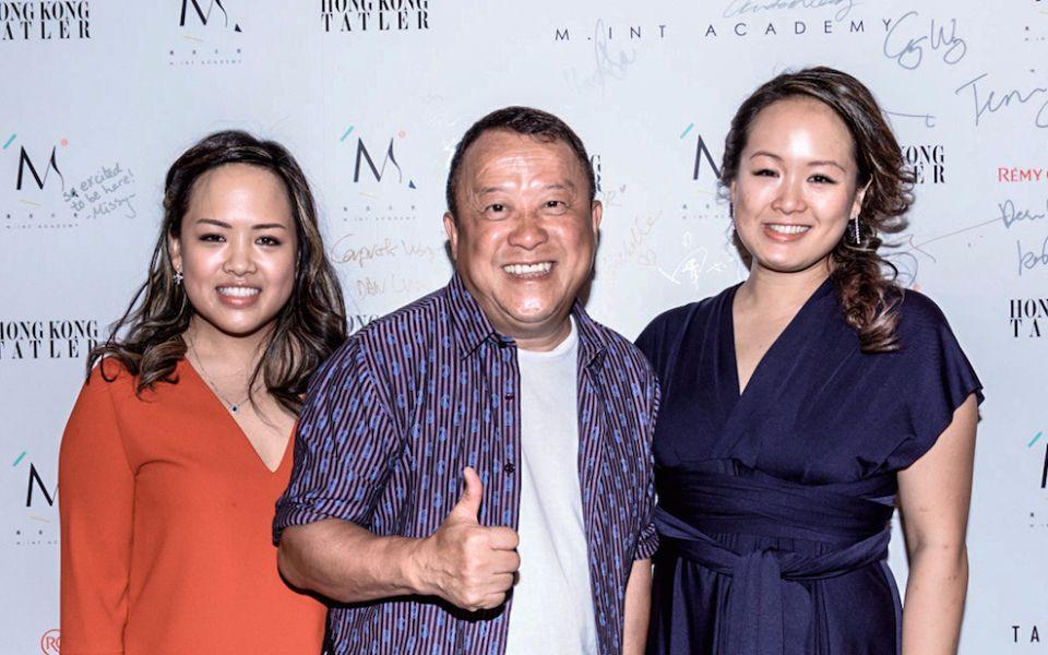 Philippa Wong, Eric Tsang and Andrea Wong