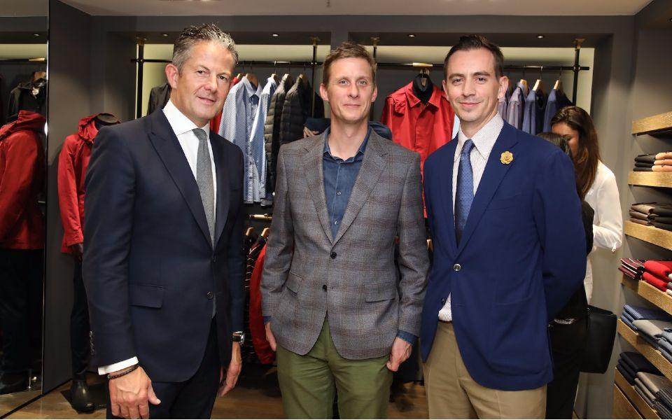 Nick Keyte, Jake Astor and Christopher Owen