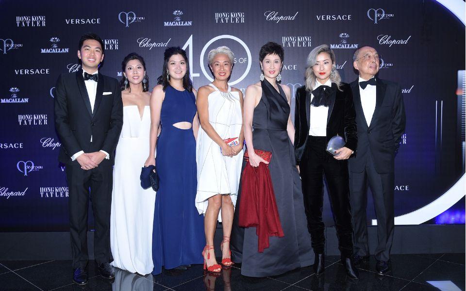 Adrian Cheung, Amanda Cheung, Jennifer Cheung, Patricia Rockenwagner, Michelle Ong, Hillary Tsui, David Cheung