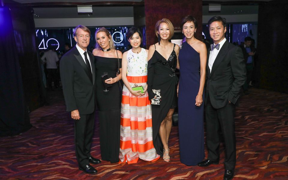 Ken Hitchner, Annabelle Bond, Tansy Lau-Tom, Yolanda Choy-Tang and Patricia Tung-Gaw, Kenneth Gaw