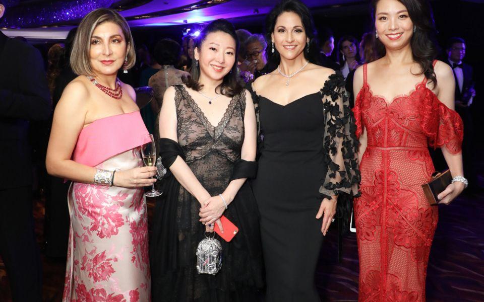 Shirley Hiranand, Winnie Chan, Mahnaz Lee, Anne Wang-Liu