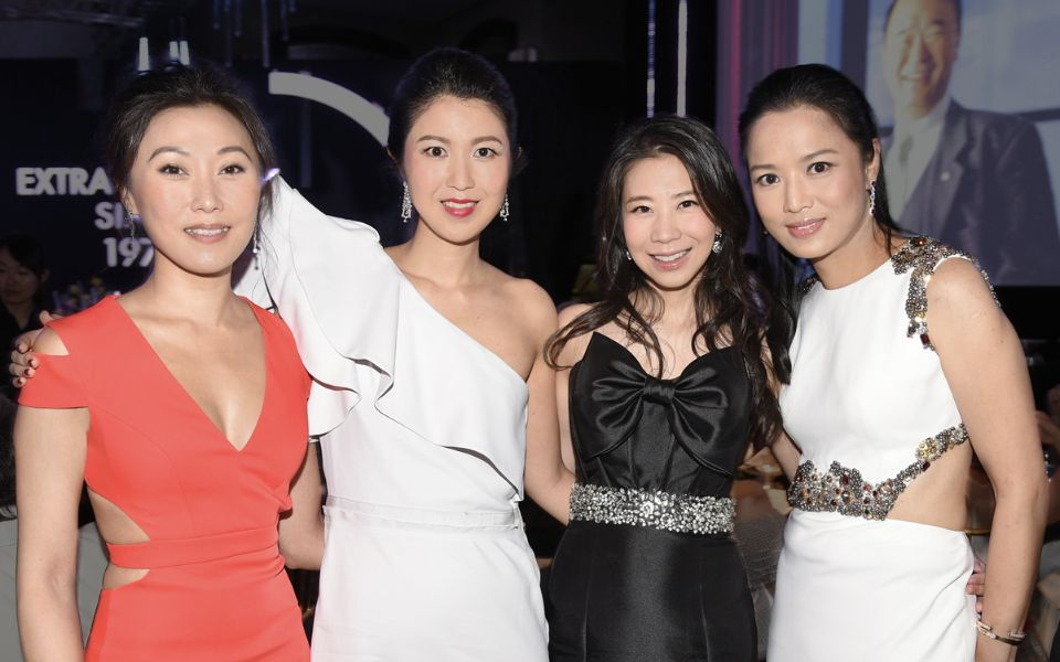 Carmen Lee, Gillian Wong, Maya Lin, Reggie Li-Kwok