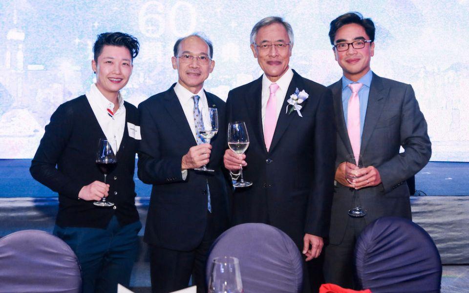 Jennifer Hui, Jimmy Kwok, Kenneth Ting and Ivan Ting