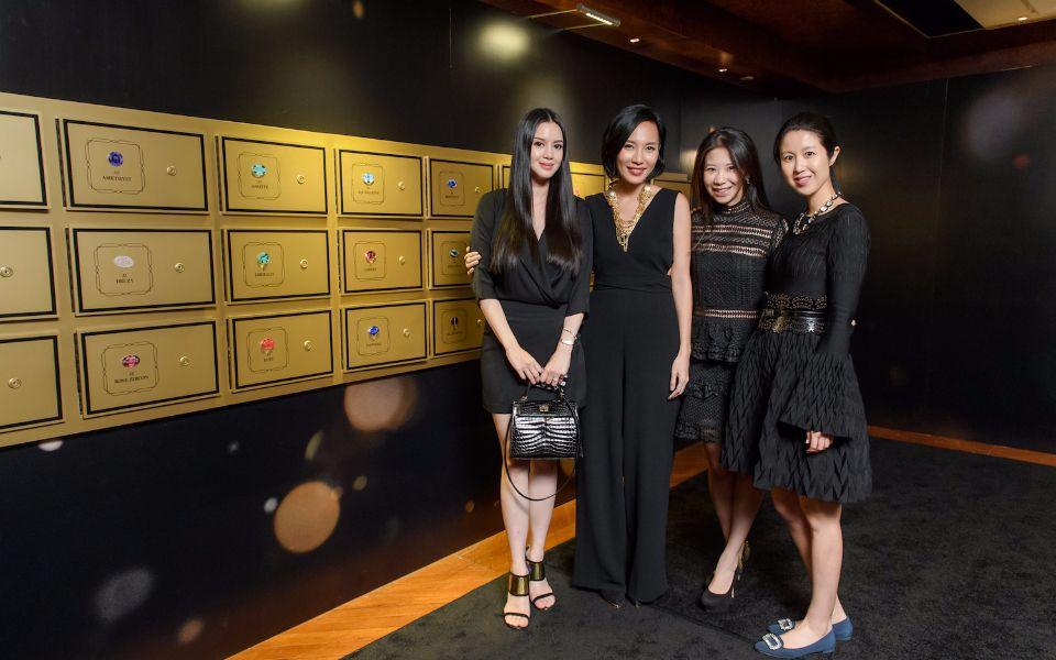 Emily Lam-Ho, Jaime Ku, Maya Lin and Gillian Wang-Wong