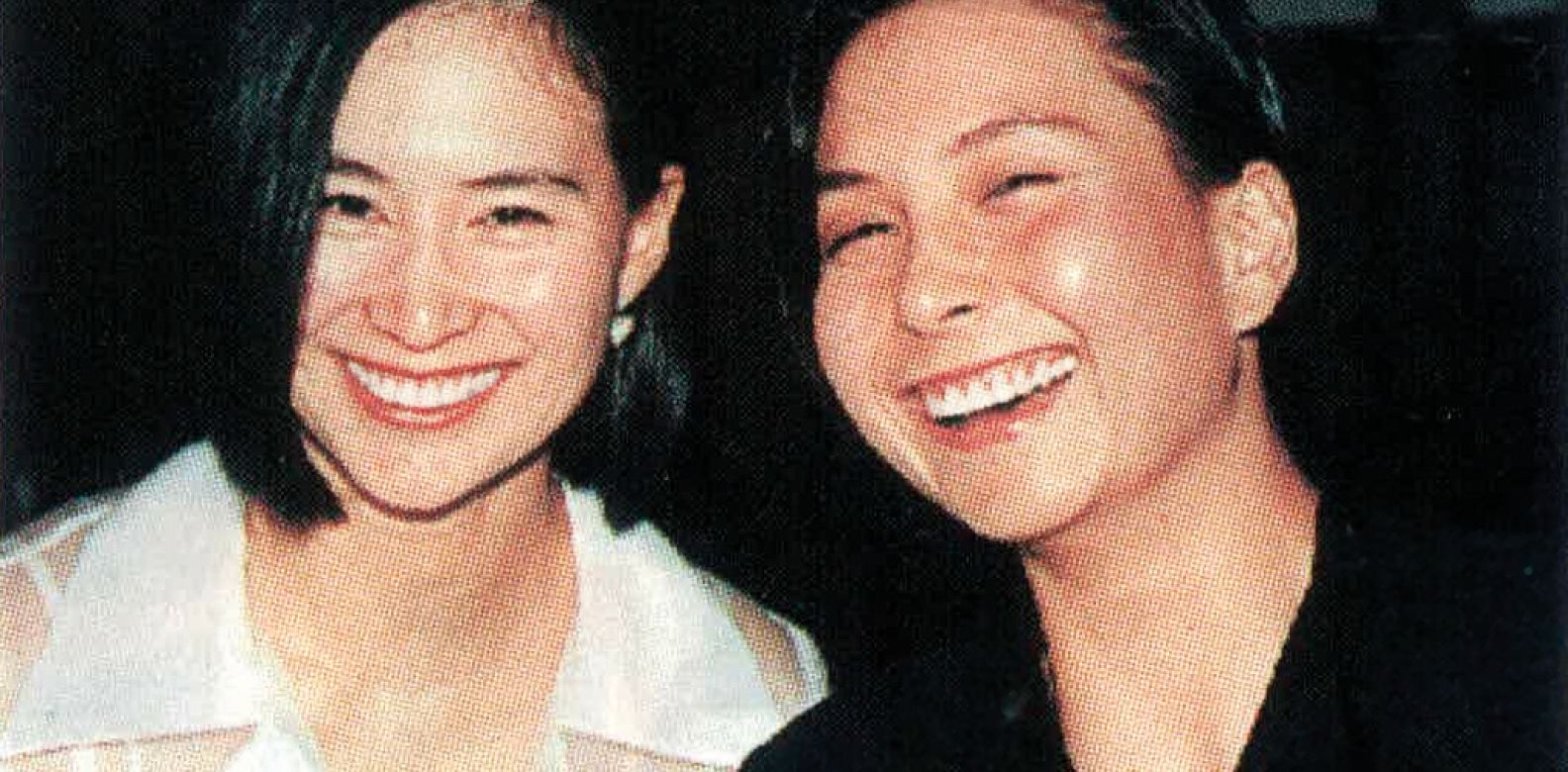 Pansy and Maisy Ho at the 75th Anniversary of the SPCA held at the Conrad Ballroom (1995)