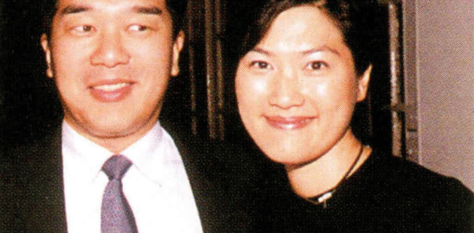 James and Su-Lee Chen at the Christian Dior fashion show held at the Helena May (1999)