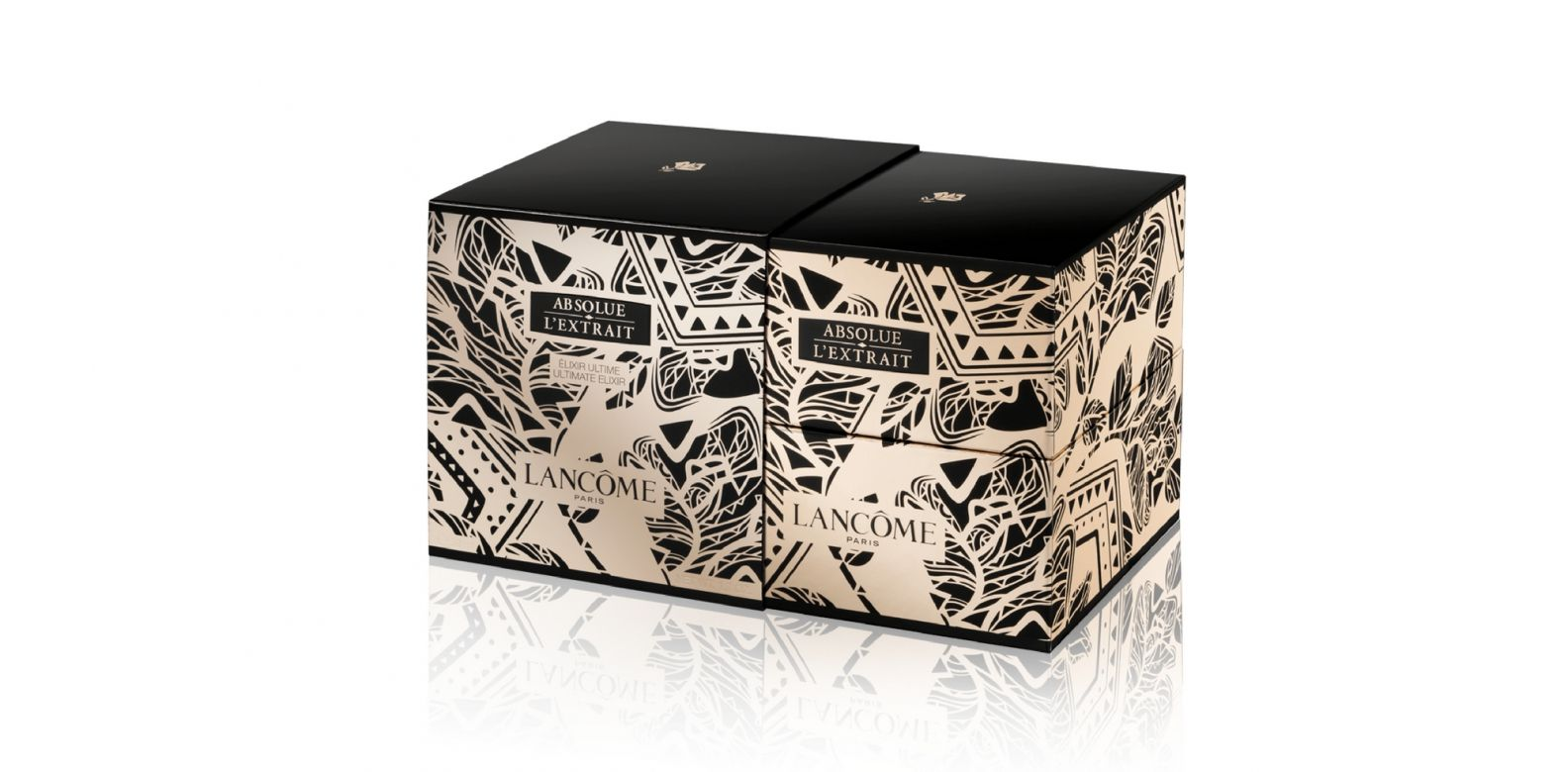 The limited edition packaging took inspirations from nature. (Photo: Courtesy of Lancôme)
