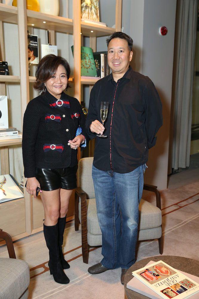 Sue-Lynn Woo-Hwa and Derrick Fung