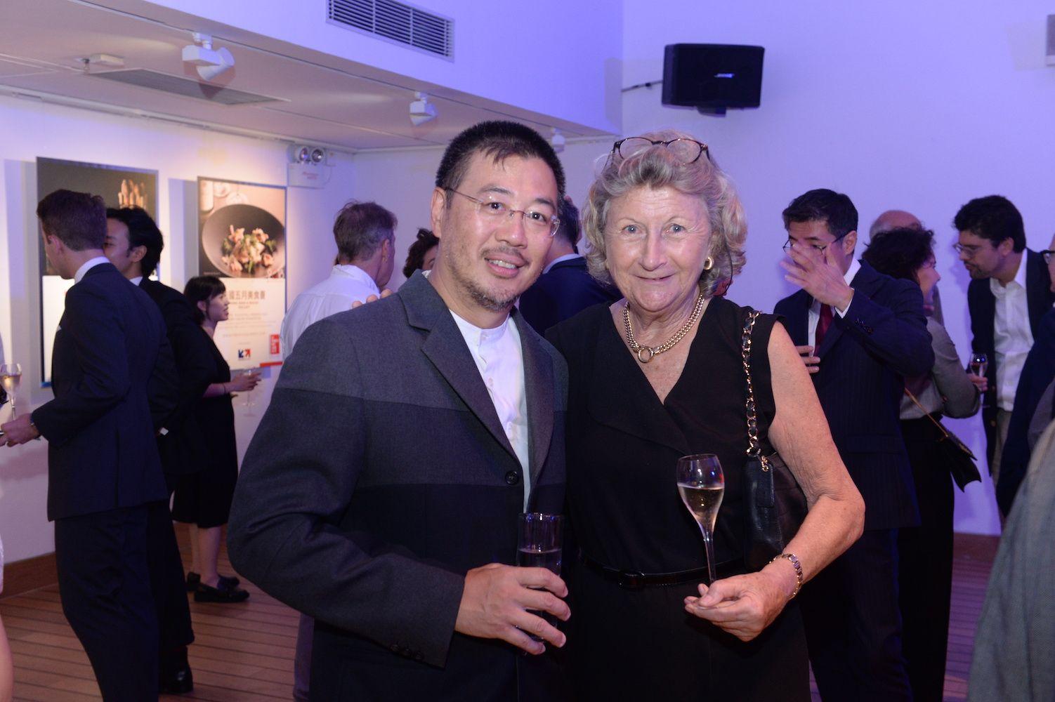 Andrew Kinoshita and Sally Lo