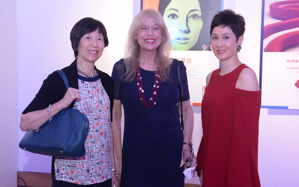 Harriet Tung, Paulette Ho and Michelle Ong