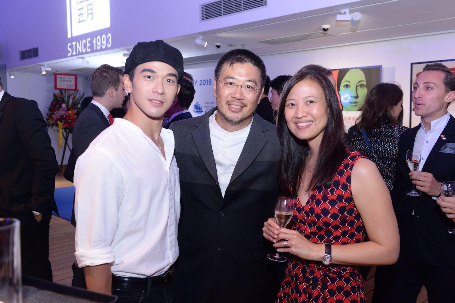 Andrew Pong, Andrew Kinoshita and Daphne King-Yao