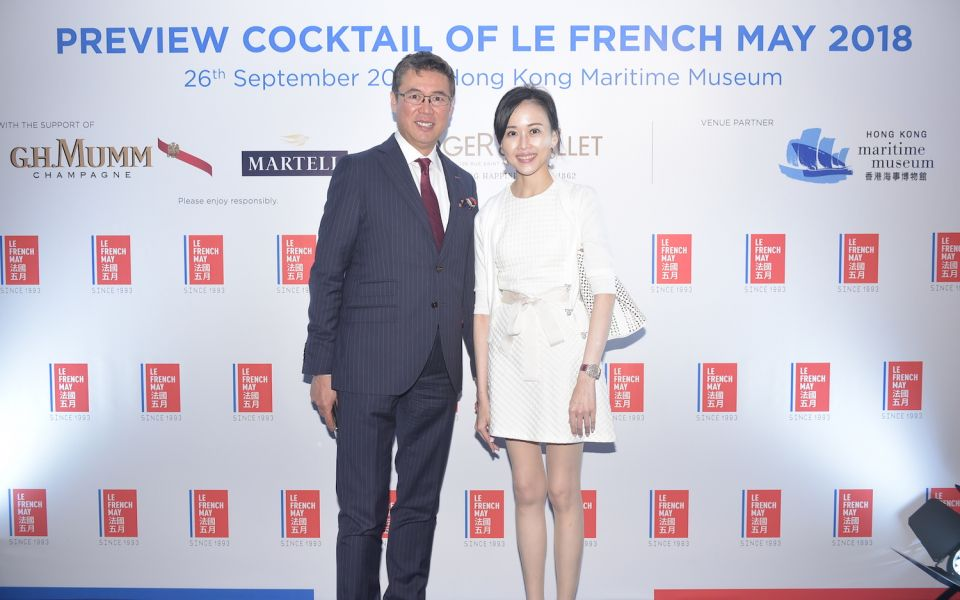 Andrew Yuen and Jacqueline Chow