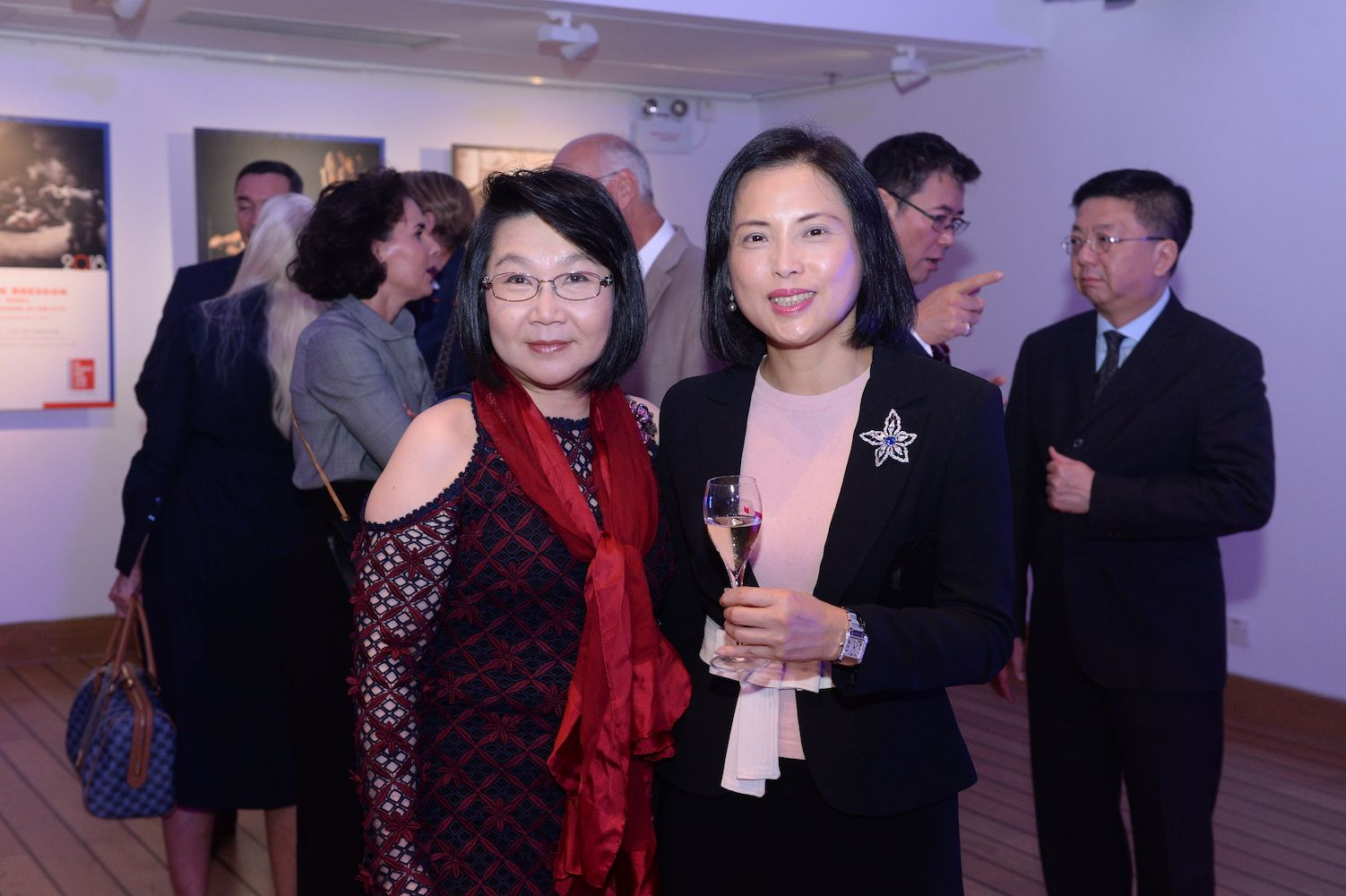Janice Choi and Betty Fung