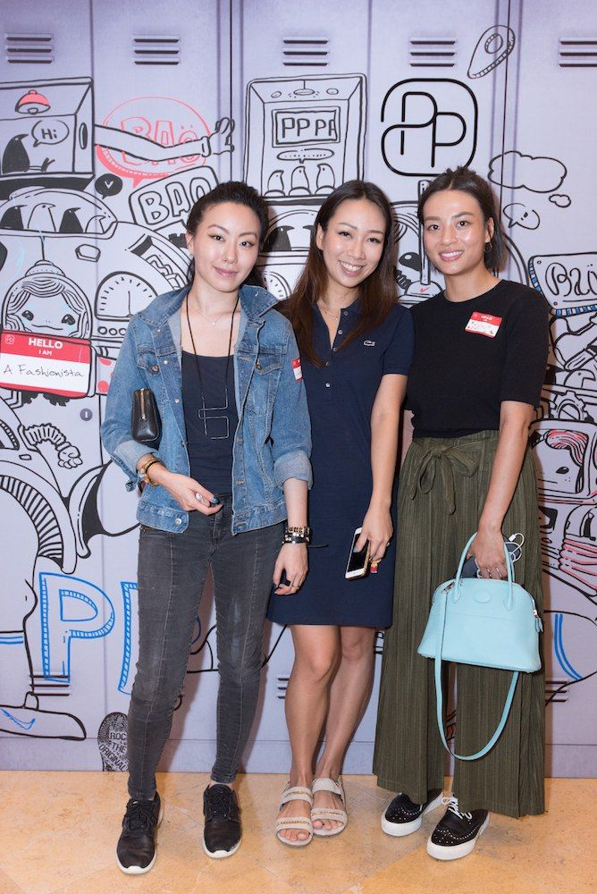 Ruth Chao, Veronica Lam and Chloe Lee