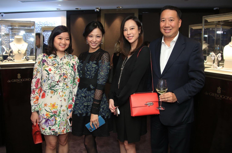 Carmen Choi, Michelle Cheng-Chan, Eleanor Chan and Derrick Fung