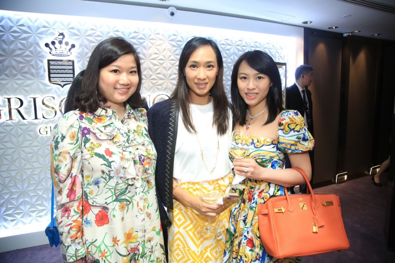 Carmen Choi, Natalie Chiu and Wendy Law