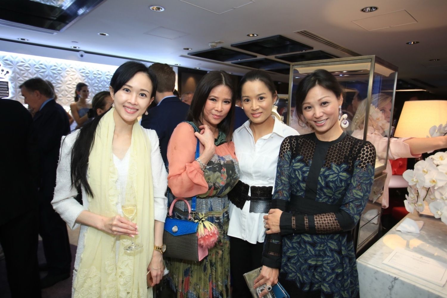 Jacqueline Chow, Yvette Yung, Reggie Li-Kwok and Michelle Cheng-Chan