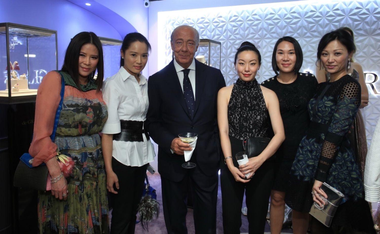 Yvette Yung, Reggie Li-Kwok, Fawaz Gruosi, Ruth Chao, Charmaine Ho and Michelle Cheng-Chan