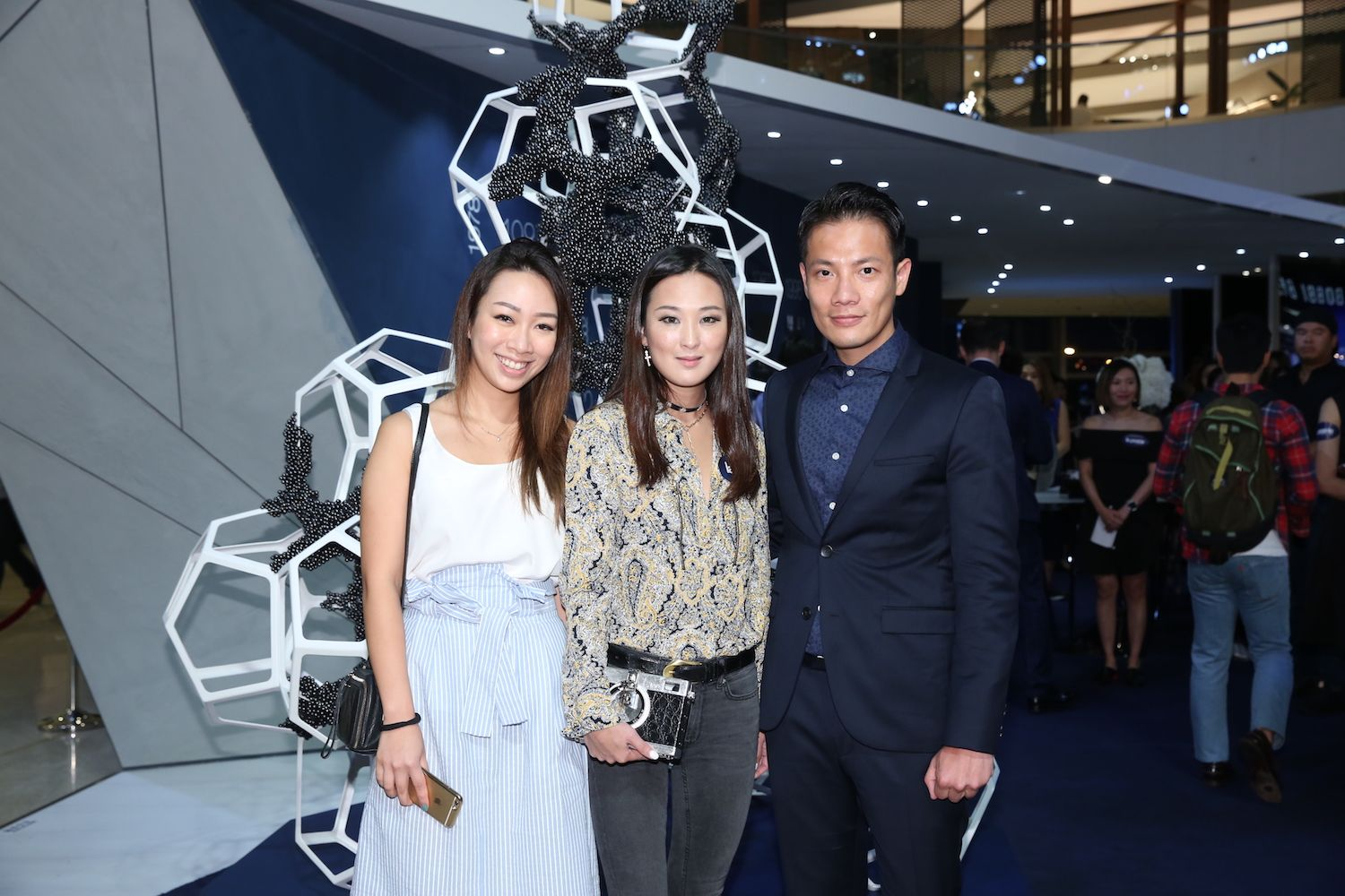 Veronica Lam, Antonia Li and Real Ting
