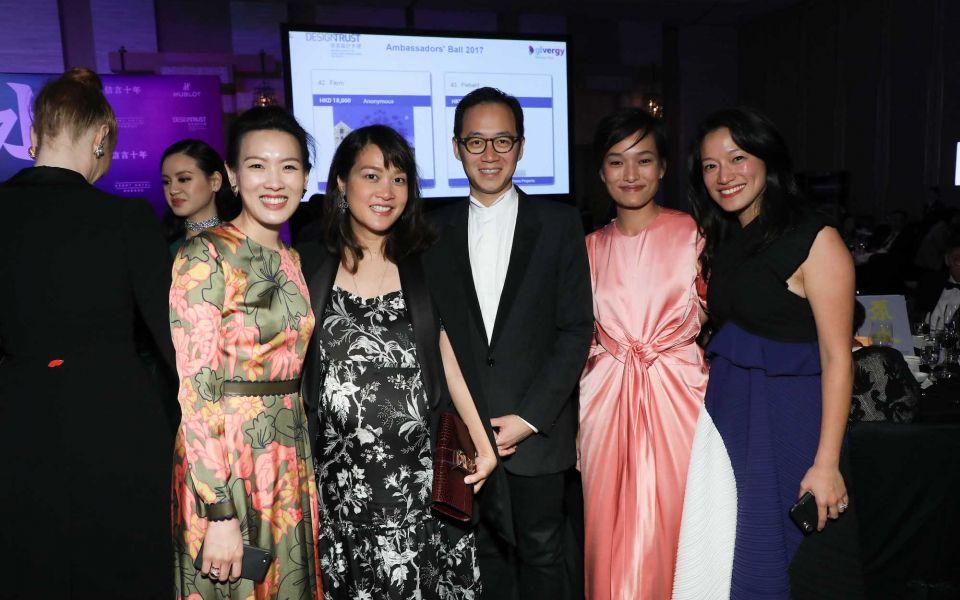 Joyce Tam, Sonia Cheng, Paulo Pong, Lorraine Kiang-Malingue, Lilian Kiang