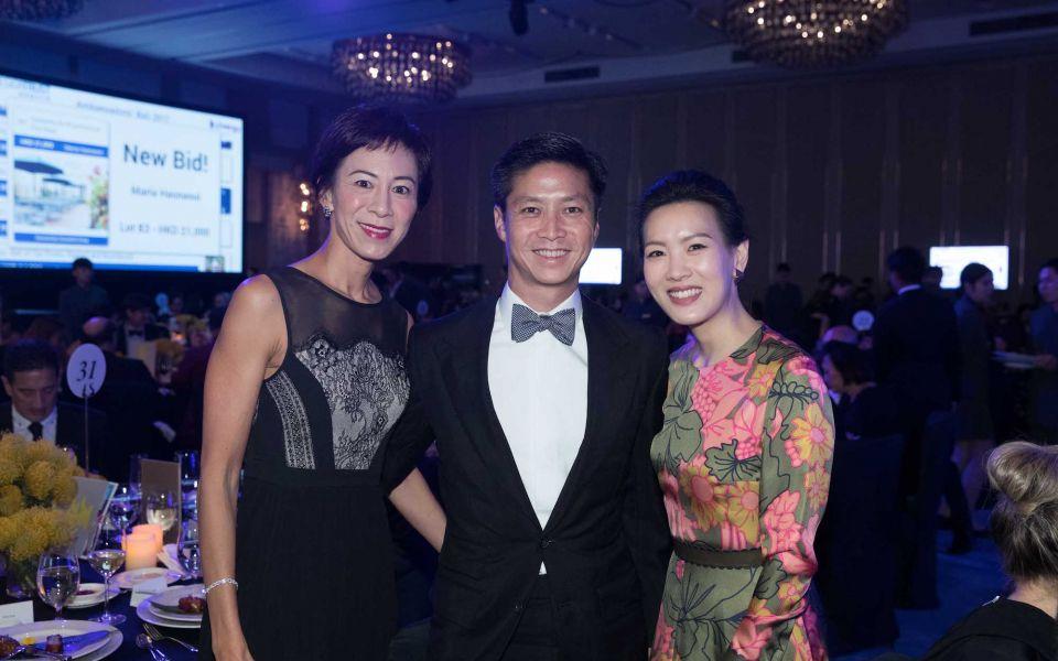 Patricia Tung-Gaw, Kenneth Gaw, Joyce Tam