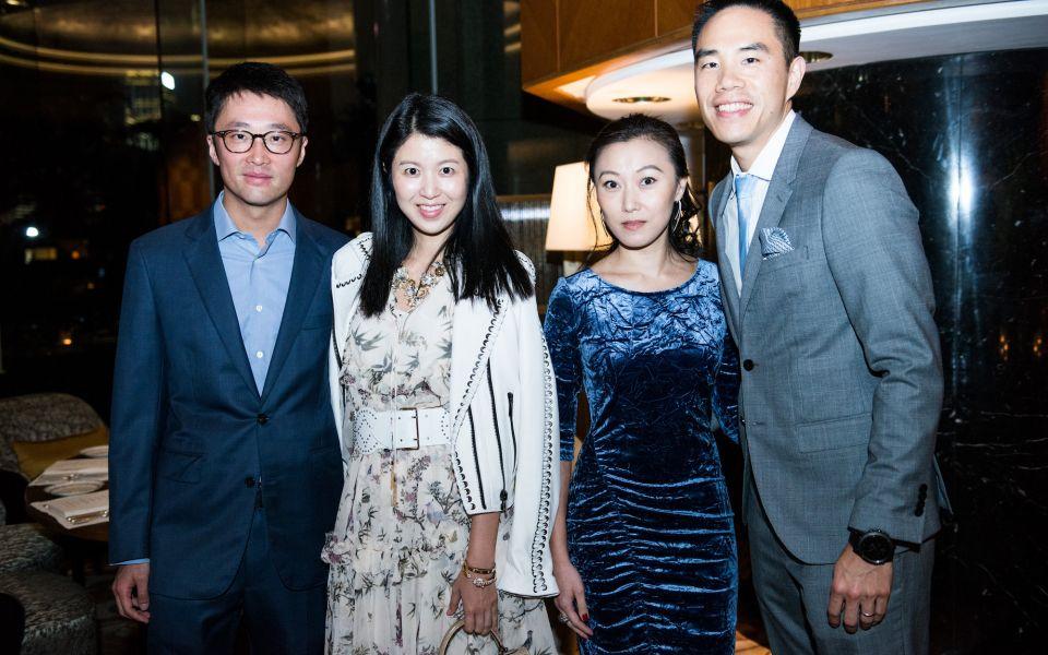 Dennis Wong, Gillian Wang-Wong, Carmen Lee, Samuel Lee