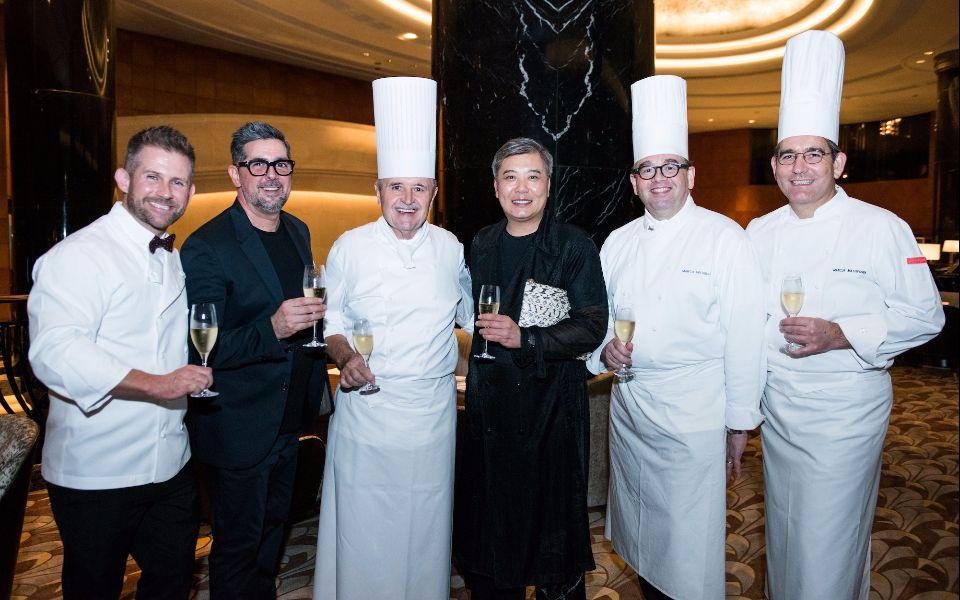 Gerhard Passrugger, Francisco Anton-Serrano, Josef Budde, Peter Cheung, Marco Avitabile and Marcus Mathyssek