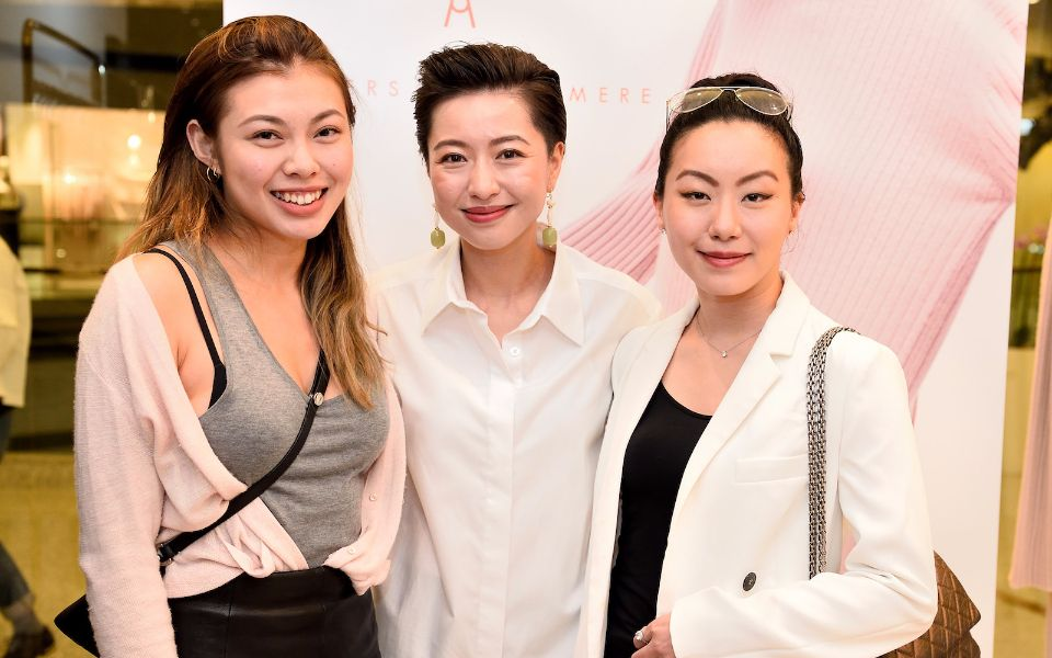 Kayla Wong, Leslie Tsang, Ruth Chao