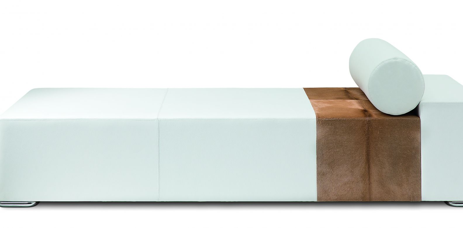 Austral Daybed by Christian Liaigre: Interior design firm Christian Liaigre has created sophisticated and sumptuous homes for luminaries including Karl Lagerfeld, Calvin Klein and François Nars. This white leather daybed has been one of the studio's most popular items ever since it was released in 2013. (Image: Courtesy of Christian Liaigre)