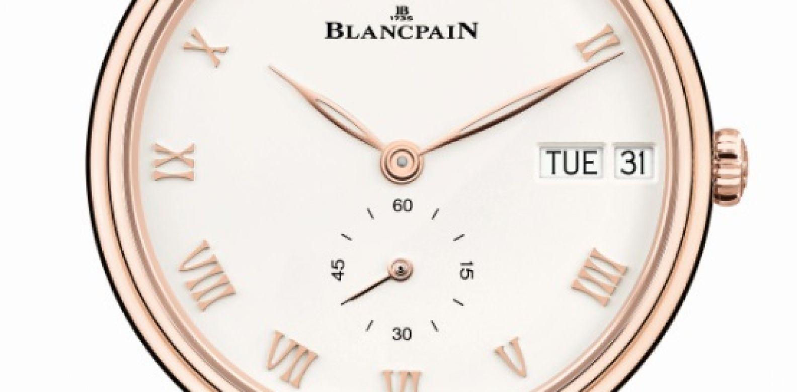 Blancpain Villeret Jour Date