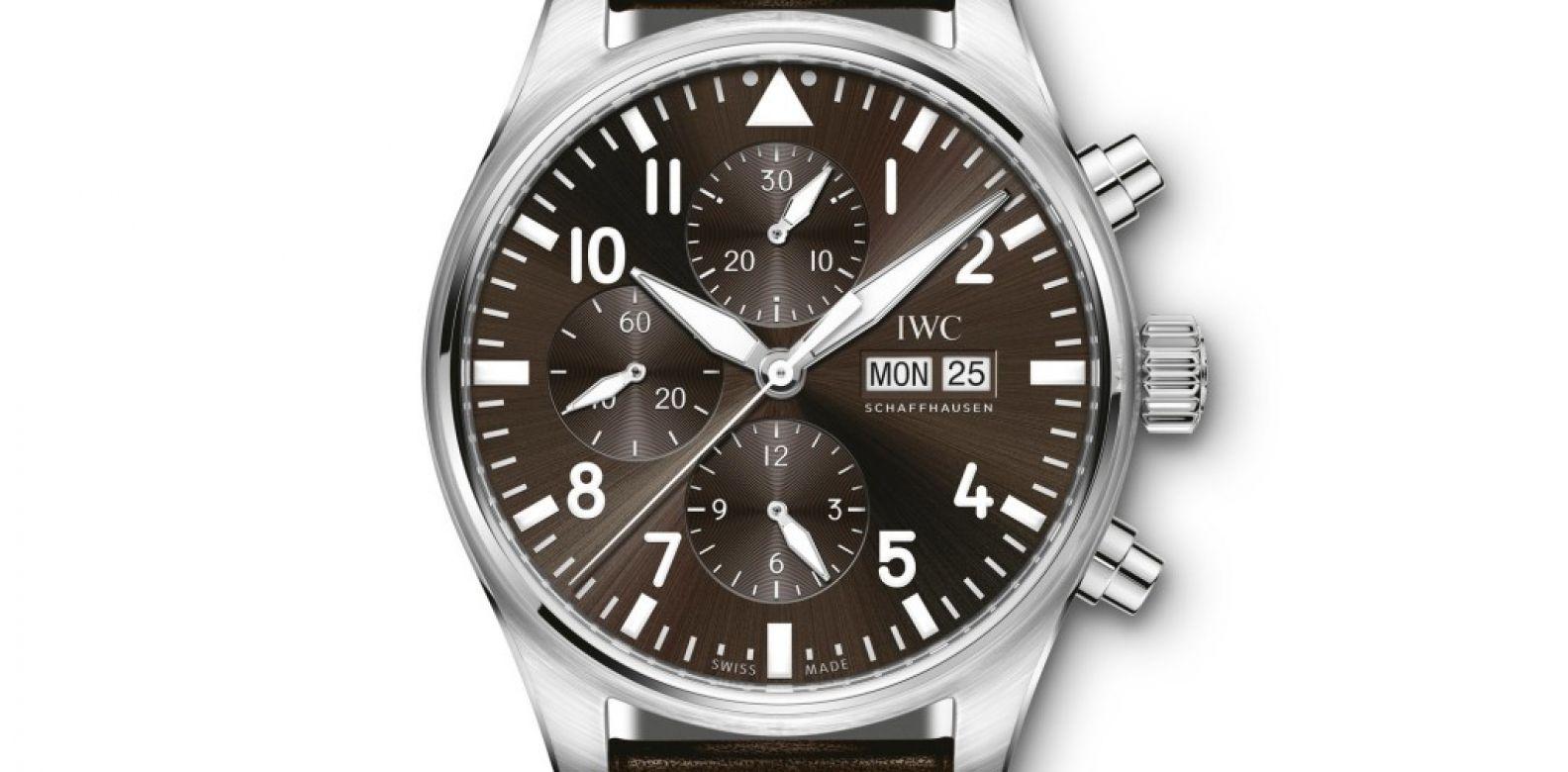 IWC Schaffhausen Pilot's Watch Chronograph Edition Antoine de Saint Exupéry