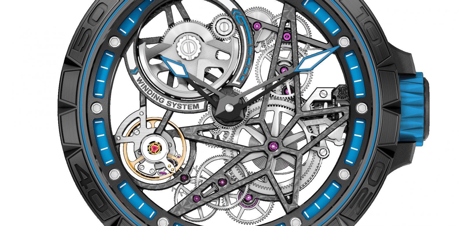 Roger Dubuis Excalibur Spider Pirelli Automatic Skeleton