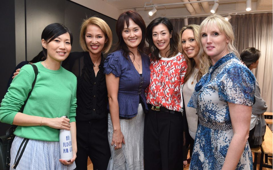 Tansy Lau-Tom, Yolanda Choy-Tang, Julie Lee, Sherry Wong, Claire Yates, Laura Derry