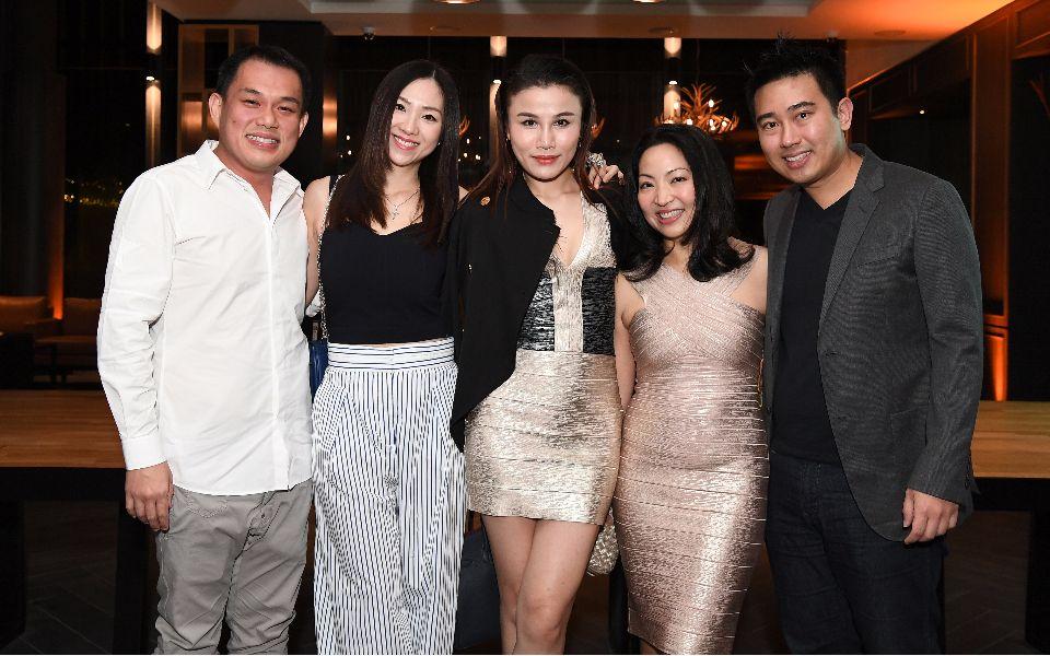 Trevor Toh, Clara Toh, Jilly Wang, Chan Ching Yuen, Calvin Chan