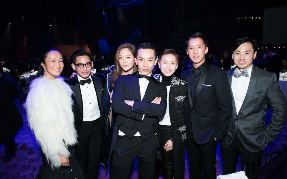 Chelsea Chau-Kuok, Ivan Pun, René Chu, Harris Chan, Tiffany Chan, André Fu, Honus Tandijono