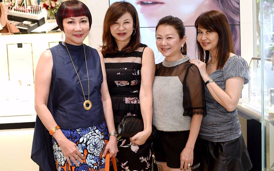 Frances Low, Violet Yeo, Angela Ng, Evelyn Sam
