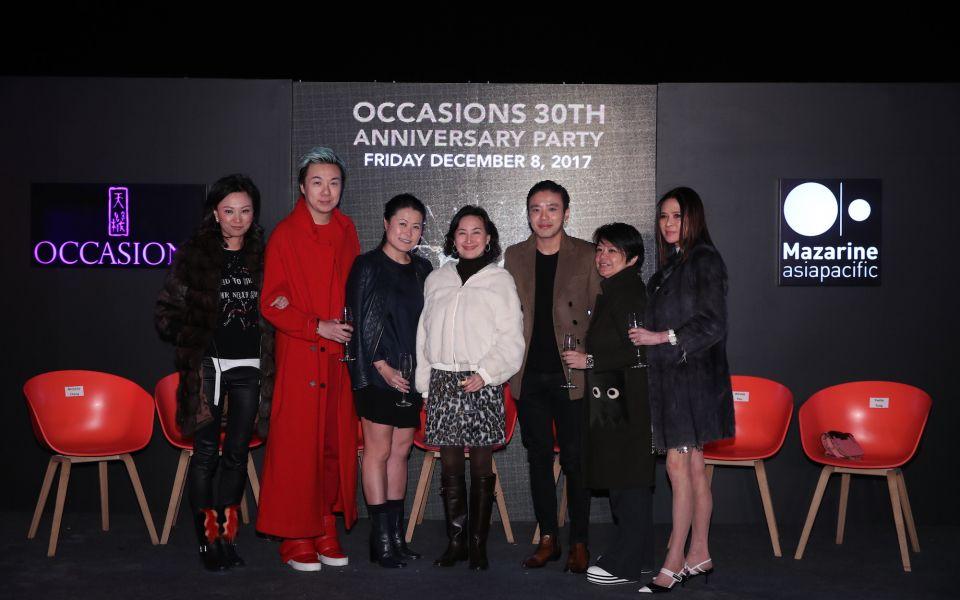 Michelle Cheng-Chan, Francis Cheng, Porcia Leung, Pansy Ho, Jonathan Cheung, Winnie Pau, Yvette Yung