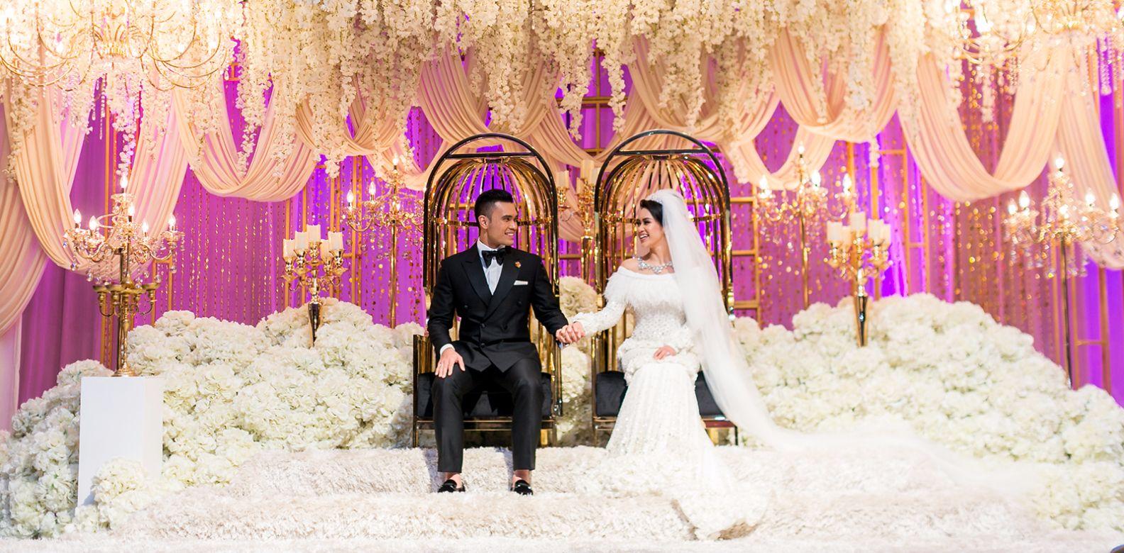 Exclusive: The 4 Fairytale Wedding Ceremonies Of Dr Fazliana Abd ...