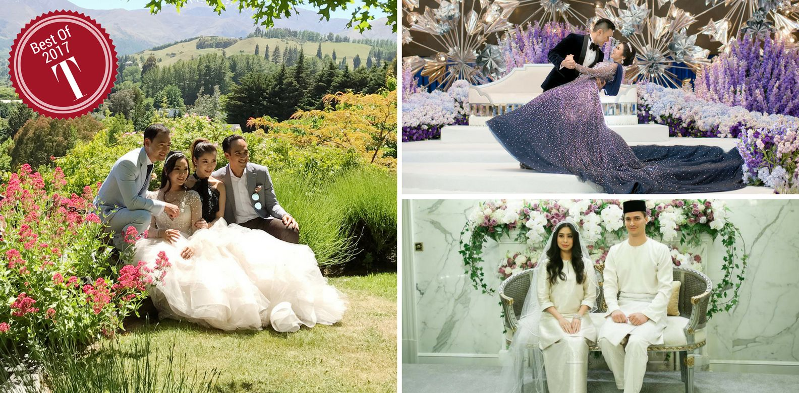 Best Of 2017: The 14 Grand Weddings That Took Our Breath Away ...