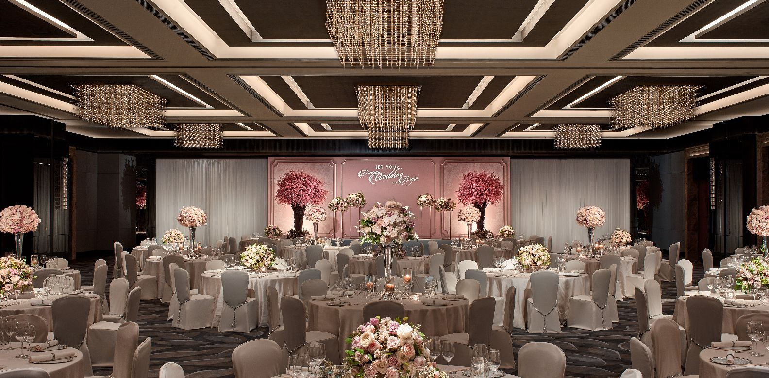 Be Inspired At Jw Marriott Hotel Hong Kong S Luxury Wedding Showcase 2018