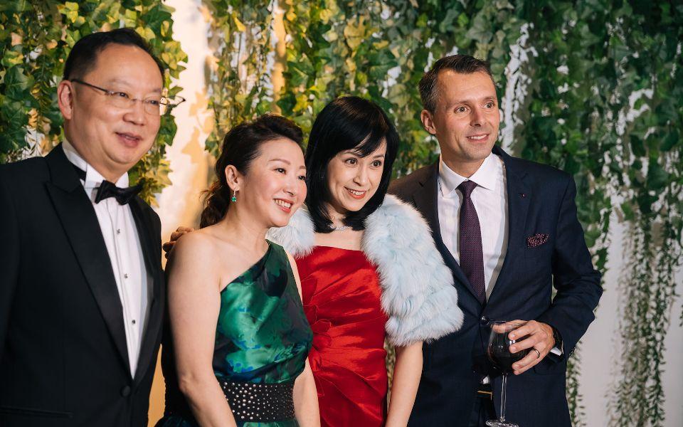 Rock Chen, Winnie Chan, Helen Chen, Raphael Gübelin
