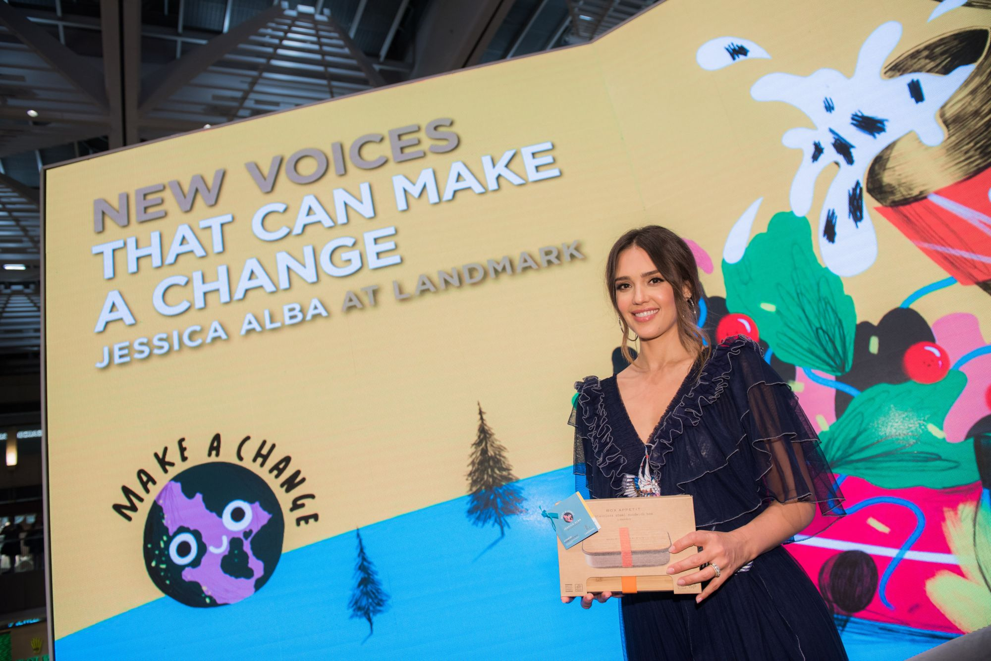 5 Key Takeaways From The Landmark Forum Featuring Jessica Alba
