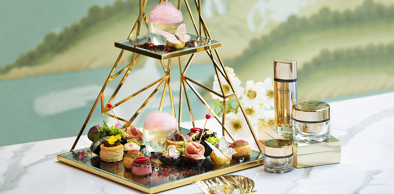 Gradini Presents Estée Lauder Black Truffle Diamond Afternoon Tea