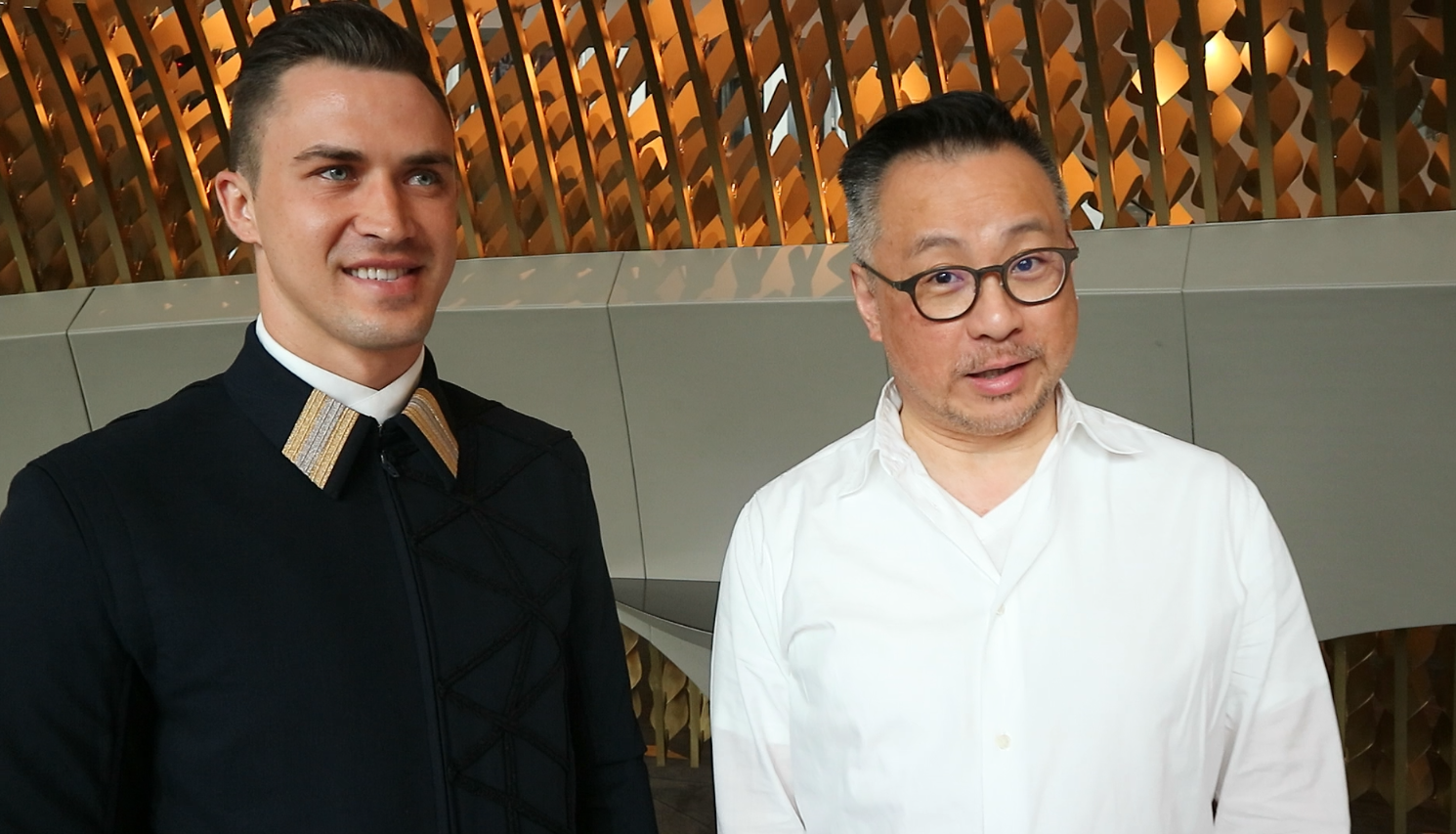Video: Barney Cheng Talks Us Through The Uniforms At Morpheus, Macau