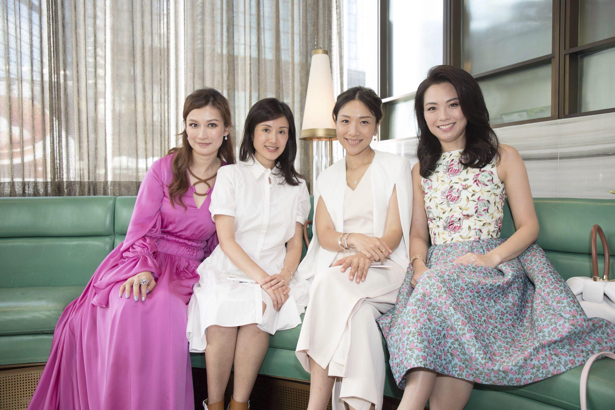 Colleen Fung, Liana Yeung, Jacqueline Sun, Anne Wang-Liu
