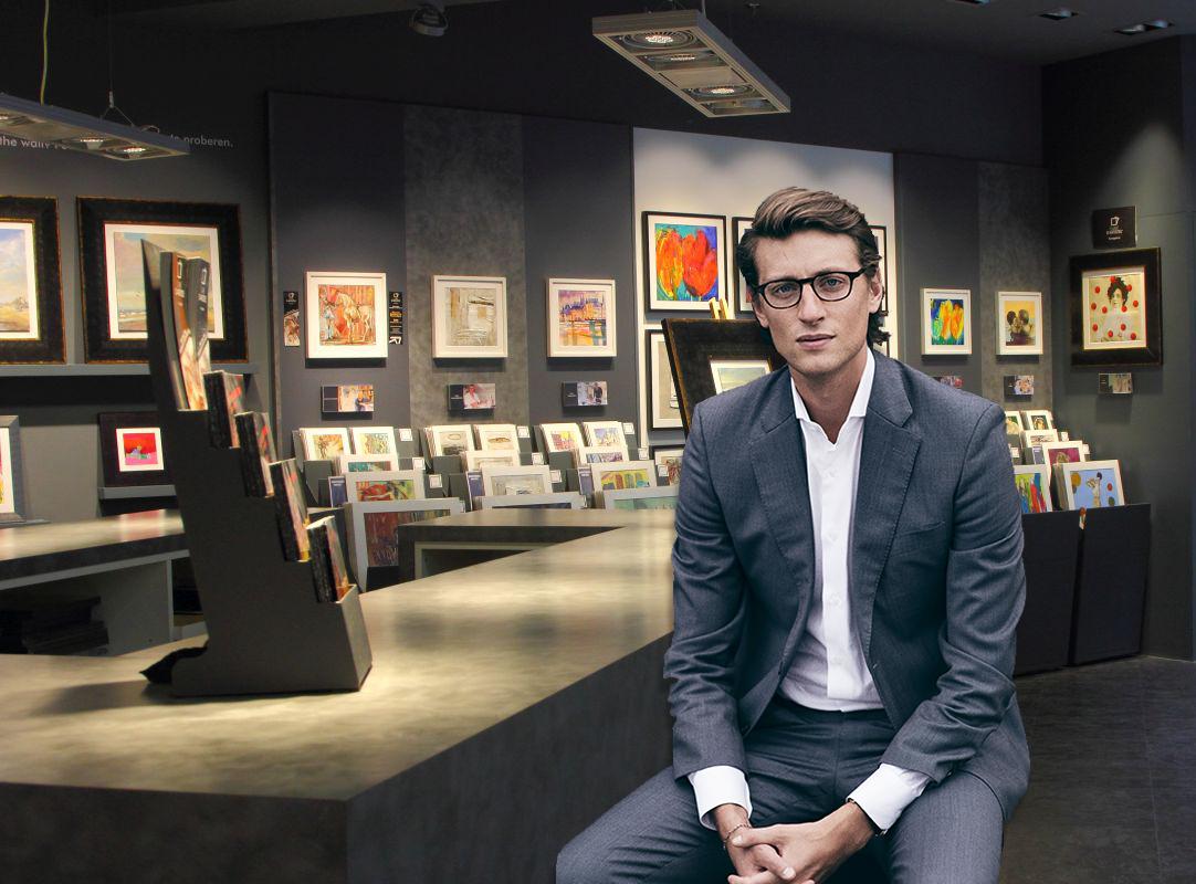 Arthur de Villepin Opens Carré d'artistes In Hong Kong