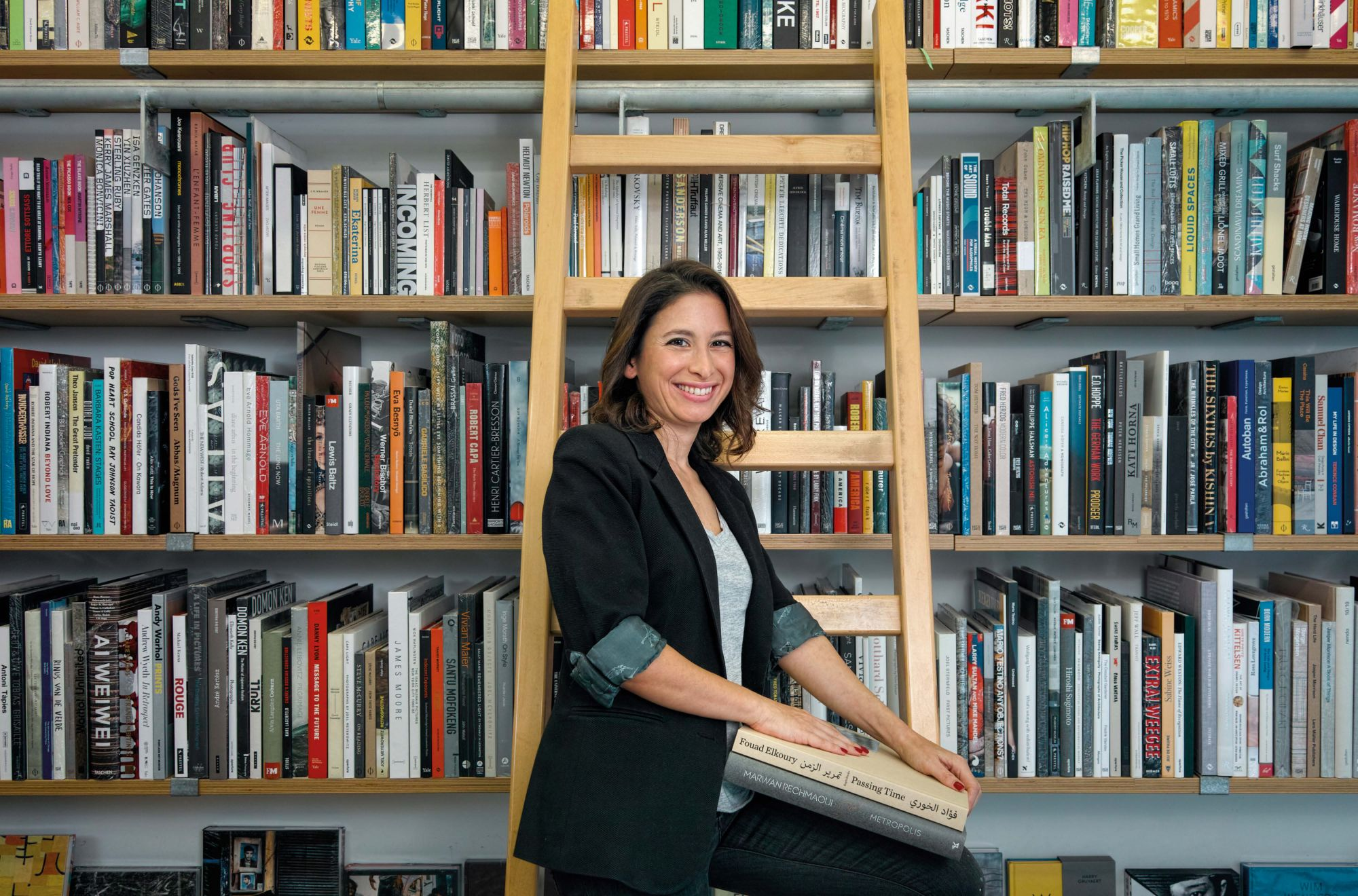 Insider Guide To Beirut: Nour Salamé, Founder Of Kaph Books