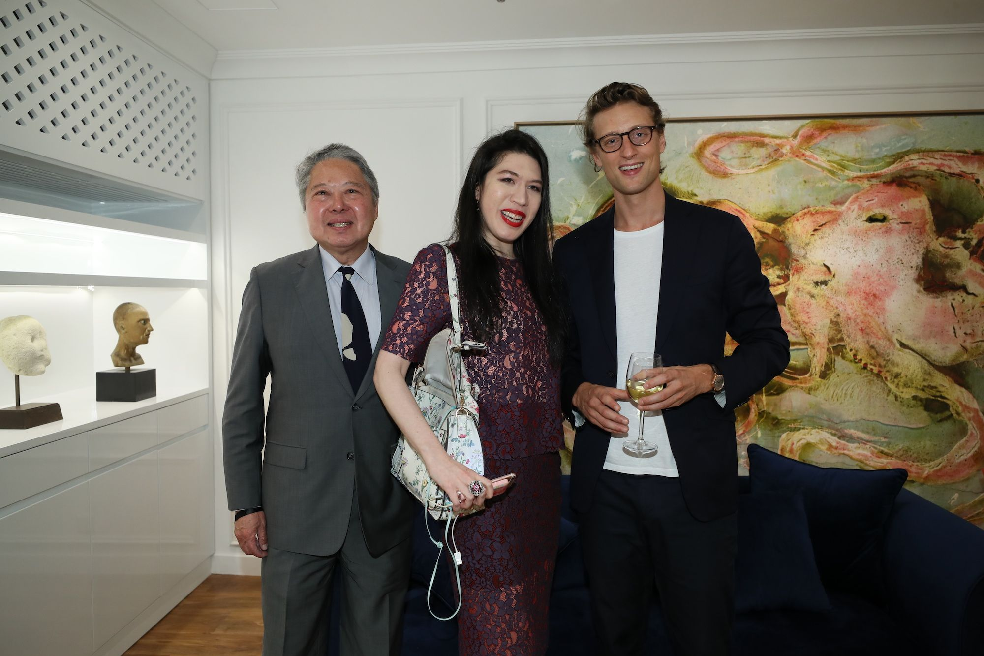 George Ho, Chloe Ho, Arthur de Villepin